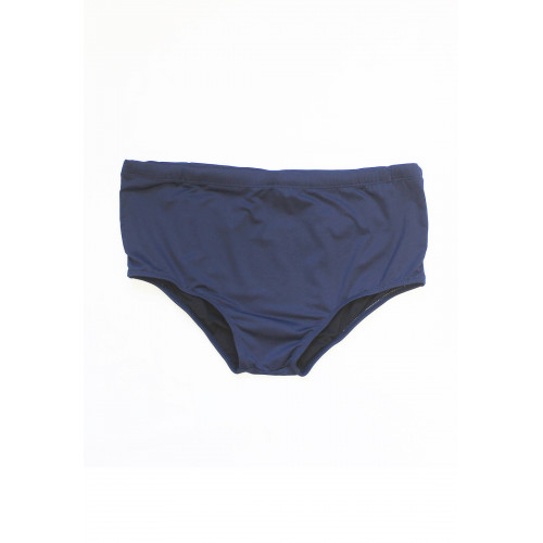Sunga masculina tradicional azul marinho